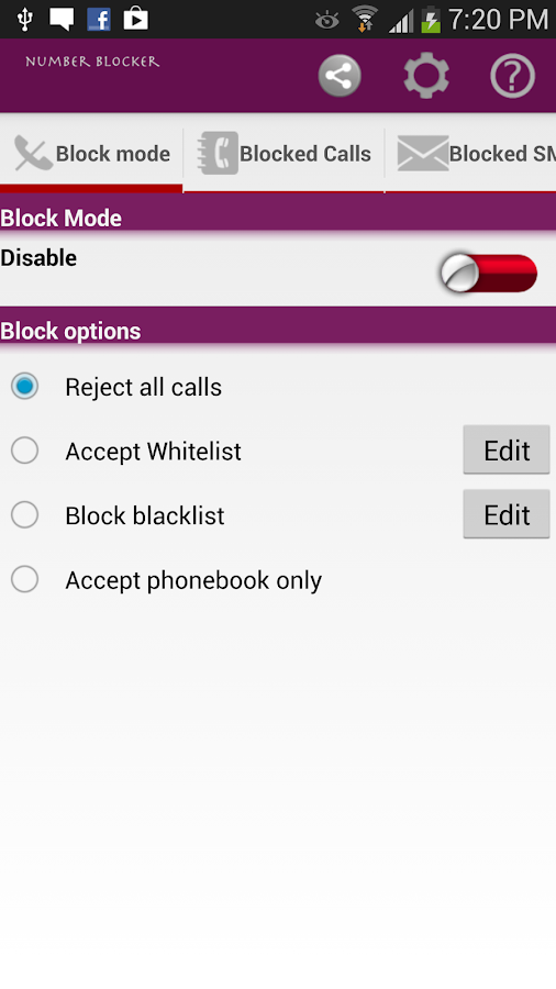 Number Blocker - screenshot