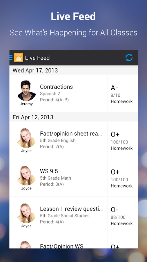 PowerSchool for Parents- screenshot