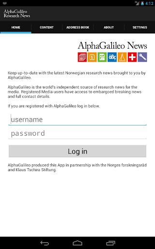 AlphaGalileo Norwegian News