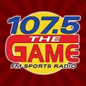 107.5 The Game logo