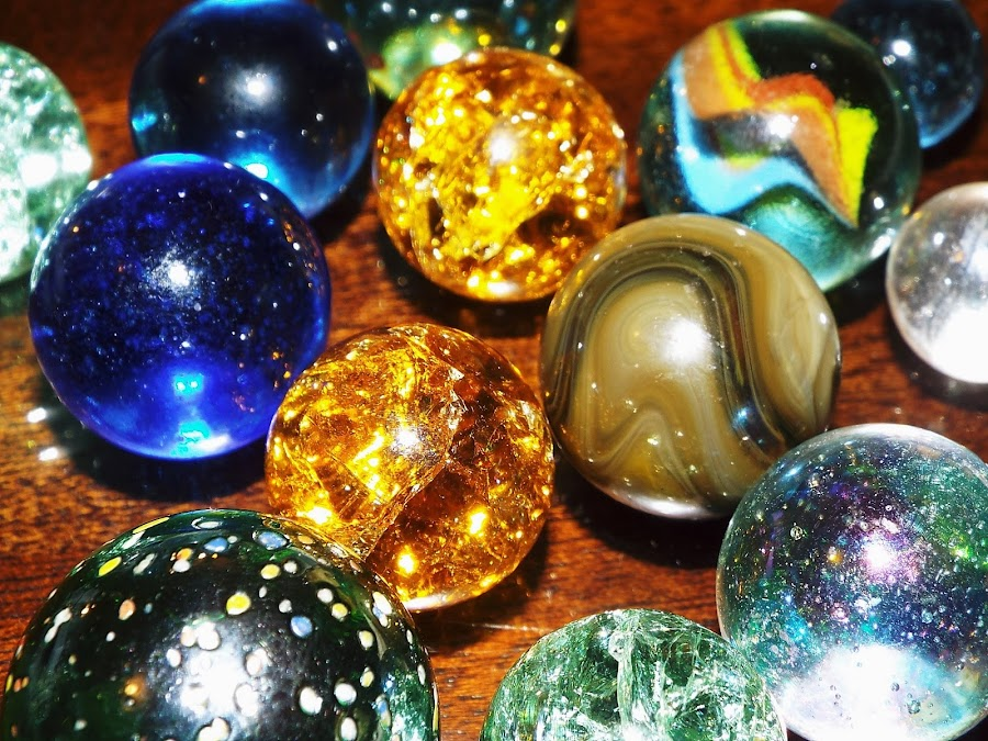 Marbles by Marilyn Bass - Artistic Objects Other Objects ( marble, arkansas photographer, glass, marbles, rounds, round, arkansas, glass marbles,  )
