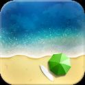 Exotic Beach HD Live Wallpaper icon