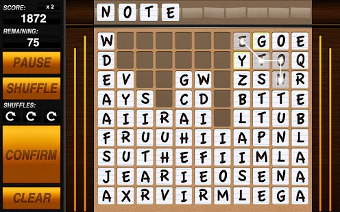 Word-Drop Tablet - screenshot thumbnail