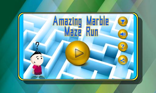 Amazing Marble Maze Run
