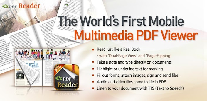 ezPDF Reader Multimedia PDF 2.2.4.0 banner