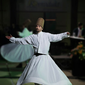 Whirling Dervish by Sead Kazija - People Musicians & Entertainers
