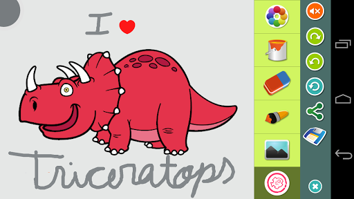 教育必備免費app推薦|恐竜の塗り絵線上免付費app下載|3C達人阿輝的APP