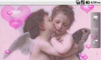 Screenshot of First Kiss Live Wallpaper