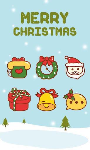 Merry Christmas Launcher Theme