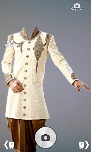Sherwani suit photo montage