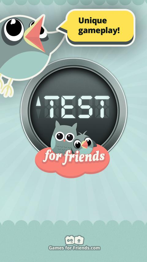 Test for Friends - Know them? - screenshot