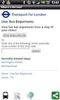 Screenshot of Where's the bus?