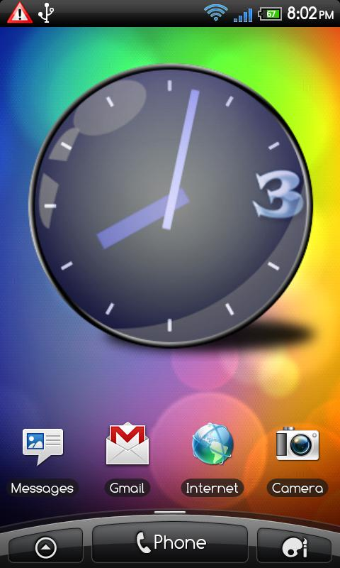 Custom Clock Widget Pro/Full - screenshot