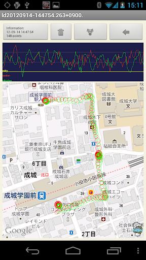 玩免費健康APP|下載LB Map脳波測定(試用版) app不用錢|硬是要APP