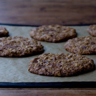 Whole Wheat Oatmeal Chocolate Chip Cookies.