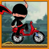 Ninja Race - Motorcross game