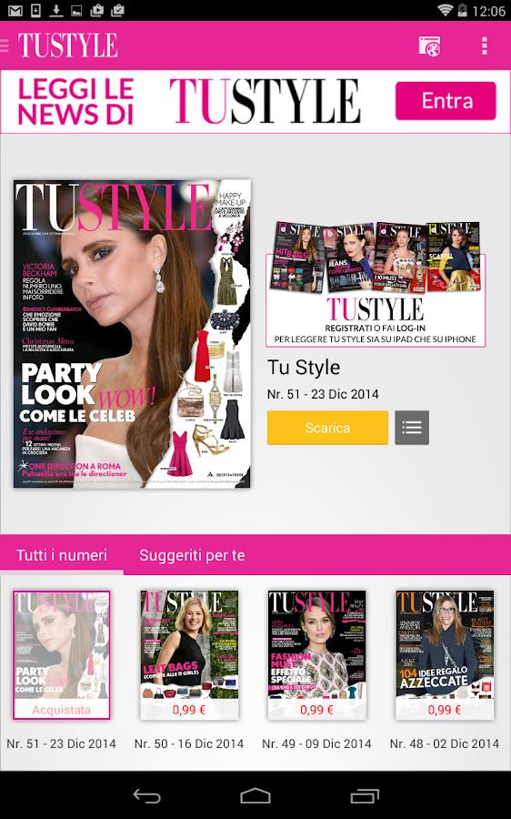 TuStyle - screenshot