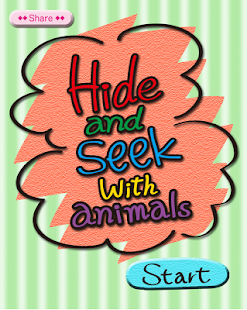 Hide & Seek with animals[Kids]- screenshot thumbnail