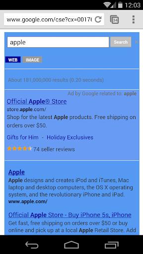 玩免費工具APP|下載藍為Google™搜尋 app不用錢|硬是要APP