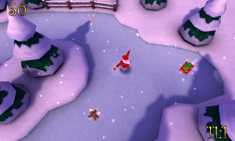 Santa's Slip'n'Slide - DEMO - screenshot