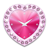 Heart clock widget -Me Clock