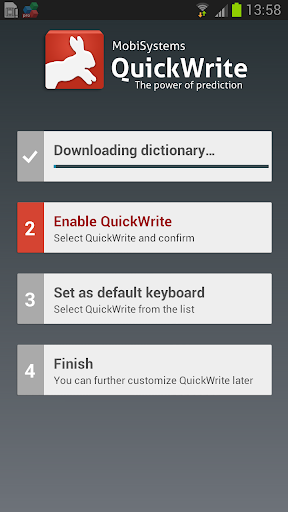 QuickWrite Keyboard Trial