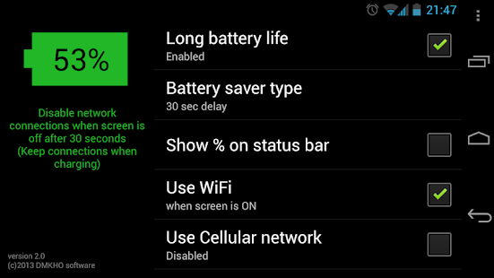 Long Battery Life- screenshot thumbnail