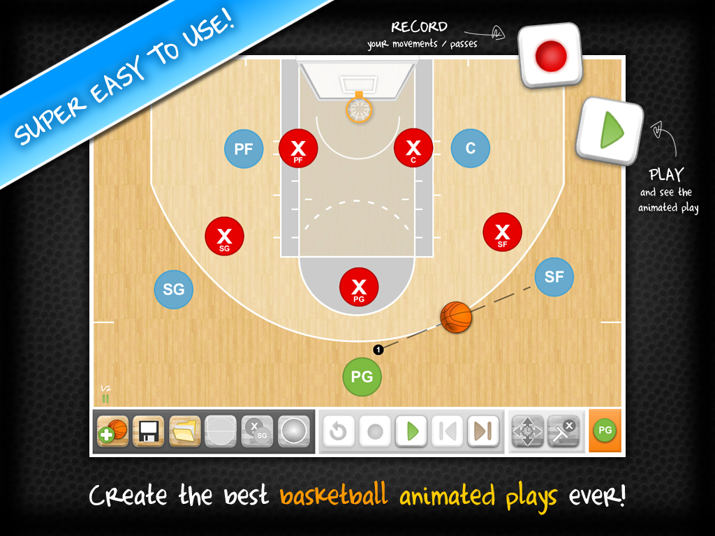 HeadCoach Basketball- screenshot