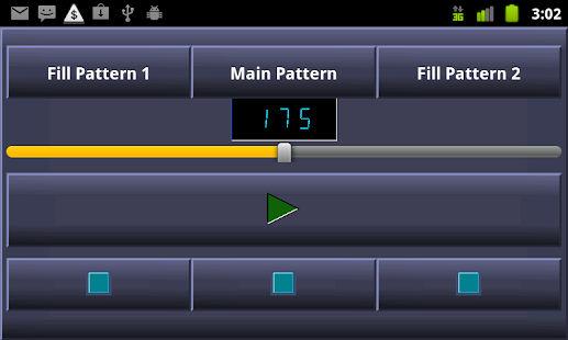 PocketDrummer Android - screenshot thumbnail