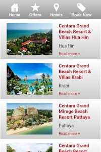 Centara Hotels & Resorts screenshot 1