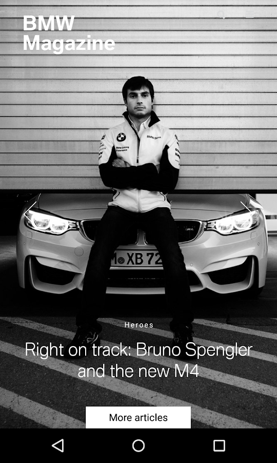BMW Magazine- screenshot