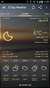 Weather & Clock Widget Ad Free v2.0.0