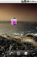 Screenshot of Purple Battery