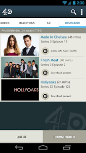 4oD - screenshot thumbnail