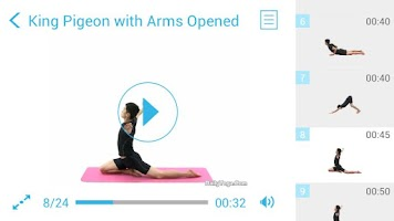 Screenshot of Yoga Sequence for Beginners