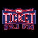 The Ticket 92.1 FM icon