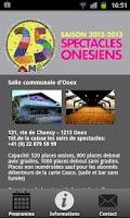 Screenshot of Spectacles Onésiens