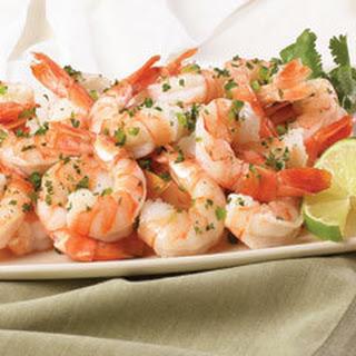 Spanish-style Garlic Shrimp.