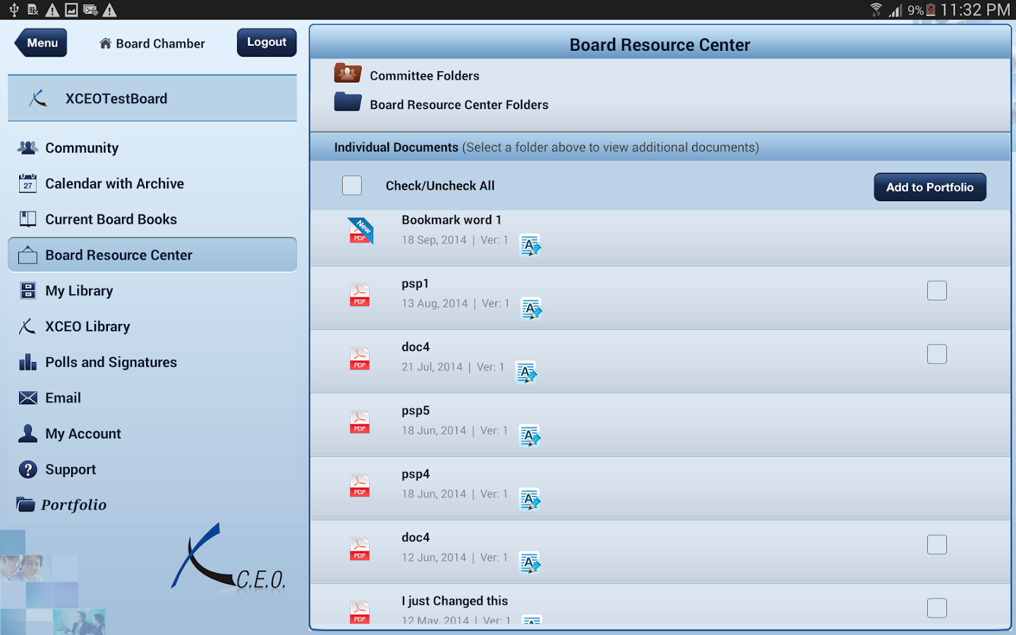 BoardPortal PLUS®- screenshot