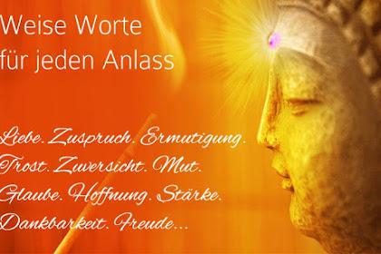 Buddha Spr He Zum Geburtstag