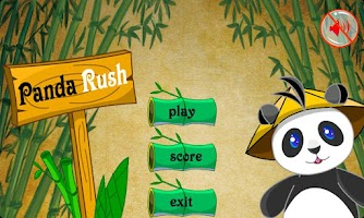 Screenshot of Panda Rush