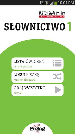 TEST YOUR POLISH Vocabulary 1