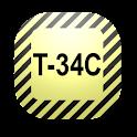 Mobile Study Aid -T-34C logo