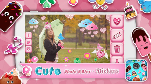 Cute Photo Editor - Stickers