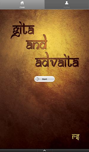 Gita and Advaita