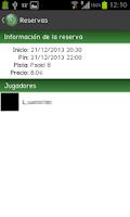 Screenshot of A1 Padel