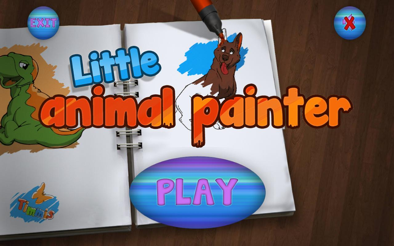 Little Animal Painter - screenshot