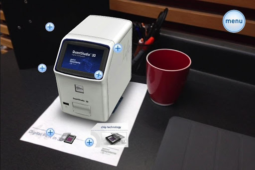 Digital PCR in 3D