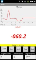 Screenshot of Multimeter Data Aquisition