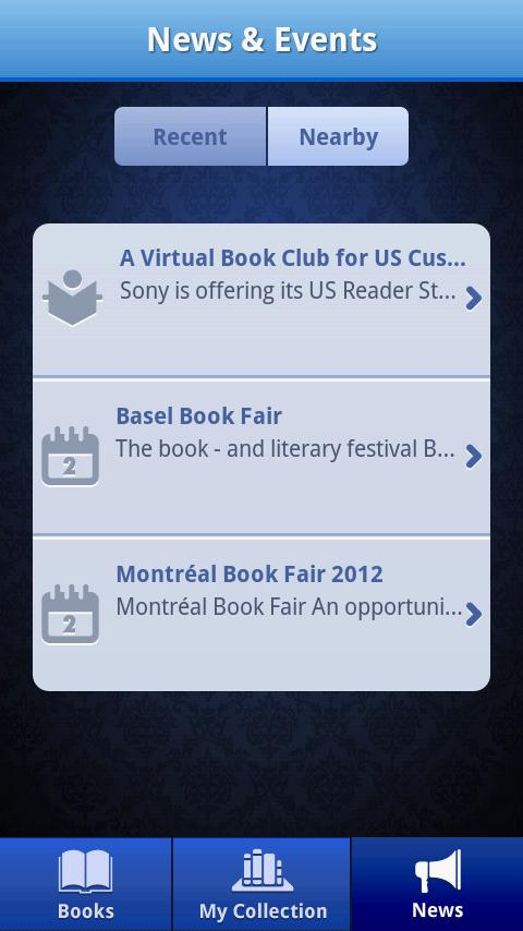 ebook Buzz - screenshot